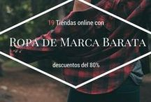 Ropa de marca Barata / Las mejores tiendas online con ropa de marca barata