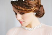 Wedding Hairstyles / up styles and dos for your wedding day / by Bree Schmidt