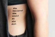 Tattoos <3 / by Georgia Louise Designs