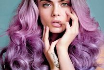 PURPLE Hair / Hairstyles inspired by the color PURPLE / by Bree Schmidt