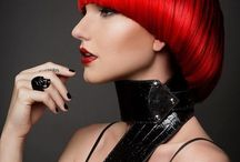 RED Hair / Every shade of red hair color in every hair length and hair style / by Bree Schmidt