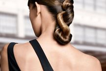 Ponytails & Hair Buns / Ponytails and topknot hair buns. / by Bree Schmidt
