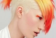 Yellow & Orange Hair / Vibrant hair color does not get more amazingly awesome than yellow and orange!! / by Bree Schmidt