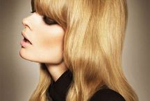 With Bangs / Hairstyles with all types and styles of bangs a.k.a Fringe  / by Bree Schmidt