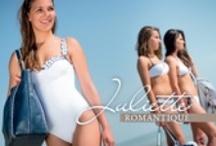 Collection Juliette par Nanacara / Une collection de vêtements, maillots et accessoires de plage alliant raffinement et légèreté aux couleurs intemporelles et classiques.