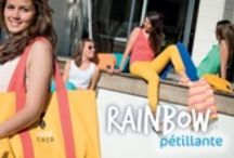 Collection Rainbow par Nanacara / Collection pour des femmes pétillantes