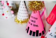 NEW YEARS / Here are some fun decor, outfit, and recipe ideas for New Years Eve!