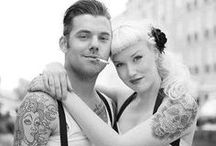 Rockabilly Guys & Gals / Guys, Gals & all their rockabilly style  / by Bree Schmidt