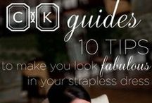 CK Guides: Sage Advice for Savvy Couples / Tips for getting the best photos from professional photographers Cameron and Jamelle