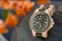 Fall In Love / WeWOOD's eco-friendly natural wooden watches are the perfect complement to the autumn color palette. You buy a watch, we plant a tree. / by WeWOOD USA