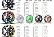 Llantas Oxigin 2015! / Puedes comprar llantas Oxigin elegiendo el color que más te guste