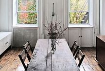 Long dining room tables