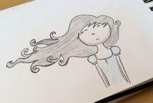 quer desenhar , é só copiar / passo a passo e desenhos fáceis e práticos