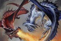 Fantasy Art - Dragons / Draconians, Reptiles and Scalekinds