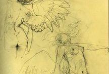 Claire Wendling / ispirazioni di stile per Metamorfosi