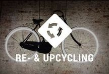 Re- & upcycle your bicycle / Don't throw away old bike parts. You can do fun stuff with them!