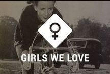 Cycling girls we love / Girls on wheels, we love them!