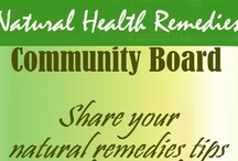 ♥ Health Remedies ♥ / A health community board to share our pins about natural remedies. 