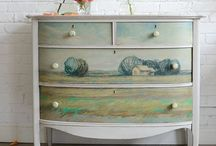 Furniture DIY / Inspiration for up cycling furniture / by Jaclyn Dionne