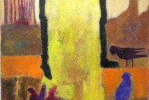 vrouwen schilder ideeen / by Diny Kiers