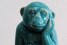 Monkey & Ape Sculptures