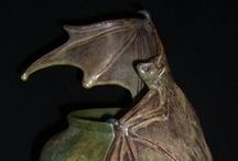Bat Sculpture