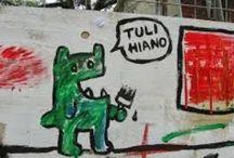 Street / Visually pleasing vandalism.