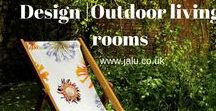 Design | Outdoor living rooms / A collection of designer outdoor living rooms and garden accessories for summer