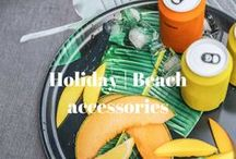 Holiday | Beach accessories / Follow our guide on everything you could possibly need to enjoy your beach holiday in the sun