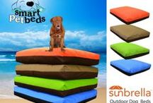 Smart Pet Beds  / Orthopedic Dog Beds - Outdoor Dog Beds - All Size Pets