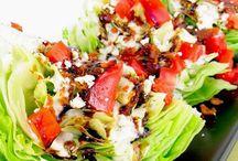 Salads are yummy