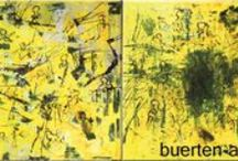 Abstract Paintings & Collages / Abstract paintings and collages made by Bürten Aumeier-Pannier.