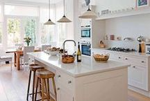 Decor: Kitchen Dreaming / Kitchens. Ovens. Storage. Colours. Cupboards. Decor. Kitchen.