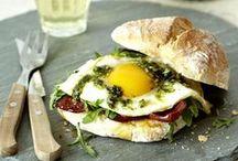 Food: Breakfasts / Breakfast ideas, healthy, unhealthy, sweet or savoury.