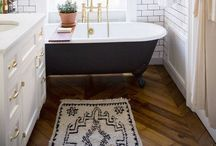 Decor: Dream Bathroom / Tiles, baths, showers, wet rooms, decor, lighting, everything I would like for my bathroom.