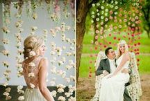 Let's Plan a Wedding / Just a little wedding inspiration for you, these are ideas that we love that would work perfectly with any of our venues on our property!
