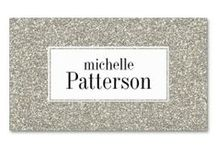 Business Cards : Glitter Patterns  / here is a growing collection of abstract glitterly business card templates - just enter your information and add to the shopping cart - http://www.zazzle.com/mrssocolov2/gifts?cg=196028547004285010
