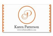 Business Cards : Monogram / these are business cards with monogram themed design ... most of them are from me and a few are from others that I thought the design was nice ... click on the image two times to visit their product page to see details and pricing ... ALSO we offer an AFFILIATE program through our Zazzle stores - if you sign up (for free) and advertise our products you will make money :)