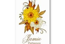 Business Cards : Fall Season  / here are some fall season (or autumn season) business card templates ... just enter your information and add to the shopping cart ... get your cards in a couple of days .. most of these designs are from me and some are from other talented artists ... CLICK on the larger image to see pricing information