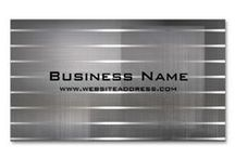 Business Cards : Modern / here is a large collection of modern themed business cards ... some of the cards shown here are from me and some are from other designers ... CLICK ON THE LARGER image to customize the card with your information (easy templates), get pricing (discounts the more you purchase) and artist information ...