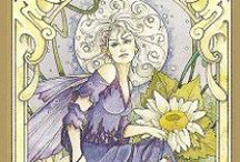 2014 Daily Tarot Meditation Message ♣ / Each week day Spring draws a Tarot Card and divine's a message to contemplate during your daily meditation. She also provides additional insight to the message on her blog Springwolf Reflections .