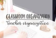 Classroom Organization | Teacher Organization / This board is where you will find many different tips and tricks to organize yourself and your classroom!