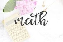 Math | STEM | STEAM / Addition - Subtraction - Multiplication - Division - Geometry - Fractions - Shapes - Decimals - Base Ten Blocks - Ten Frames - Numbers - Find all of the math resources (homework, lessons, tests, exit tickets, games) you need here!