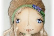 Eyes, hair dolls