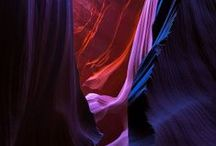 Antelope Canyon, Arizona / Antelope Canyon is a slot canyon in the American Southwest. It is located on Navajo land near Page, Arizona. Antelope Canyon includes two separate . . .
