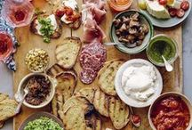 Tapas, Mezze & Nibble Recipes / Having a party? Or a romantic evening in? A pinboard of tapas, mezze and nibble recipes.