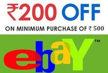 Ebay Offers, Deals & Discount in India / Ebay Deals and Discount at online shopping in India from Mytokri.com