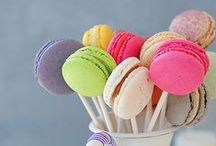 Macaron Recipes / Tasty, pretty and oh so colourful - lovely macaron recipes!