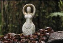 Earth Goddess / druidism, paganism, celtic, nature, goddess