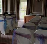 Chair Covers & Sashes / We provide over 300 different colour schemes to make your big day perfect!